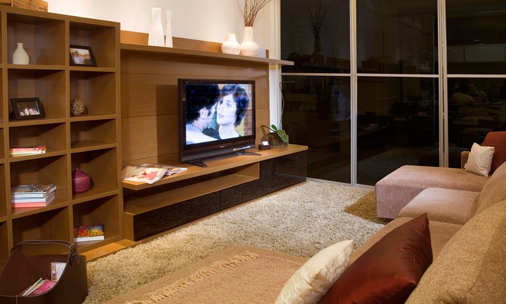 Sala Pequena Mas Bonita ~ Another Image For Salas de Estar Pequenas Simples  Decoração e