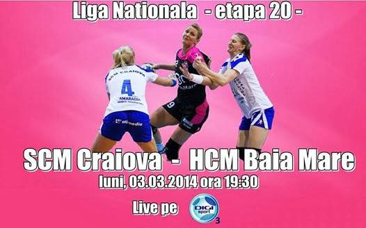 SCM Craiova - HCM Baia Mare