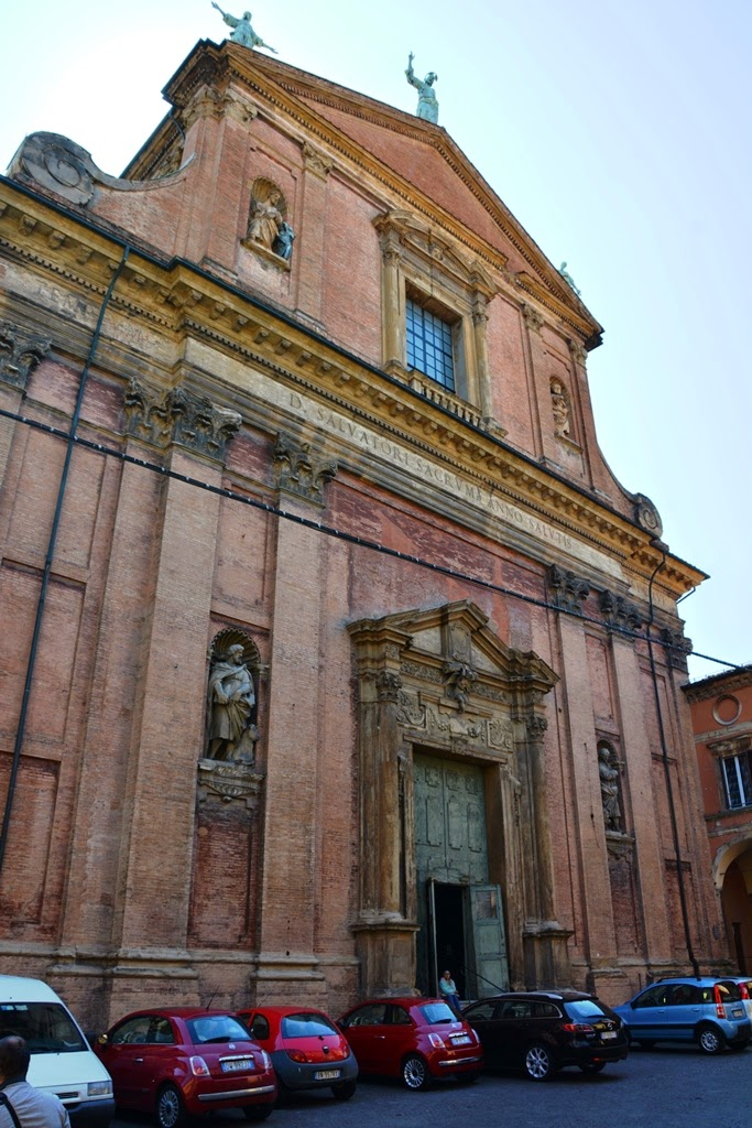 Church Santissimo Salvatore Bologna