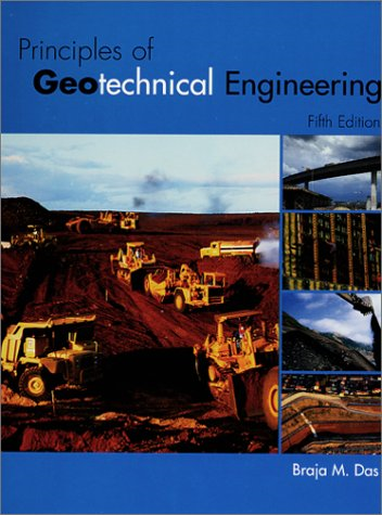 Principles of Geotechnical Engineering 5th Edition by Braja M.Das