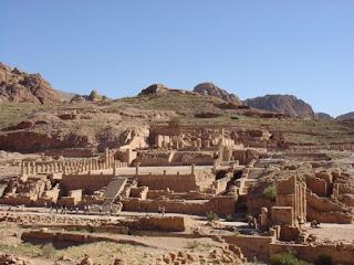 Ciudad de Petra en Jordania