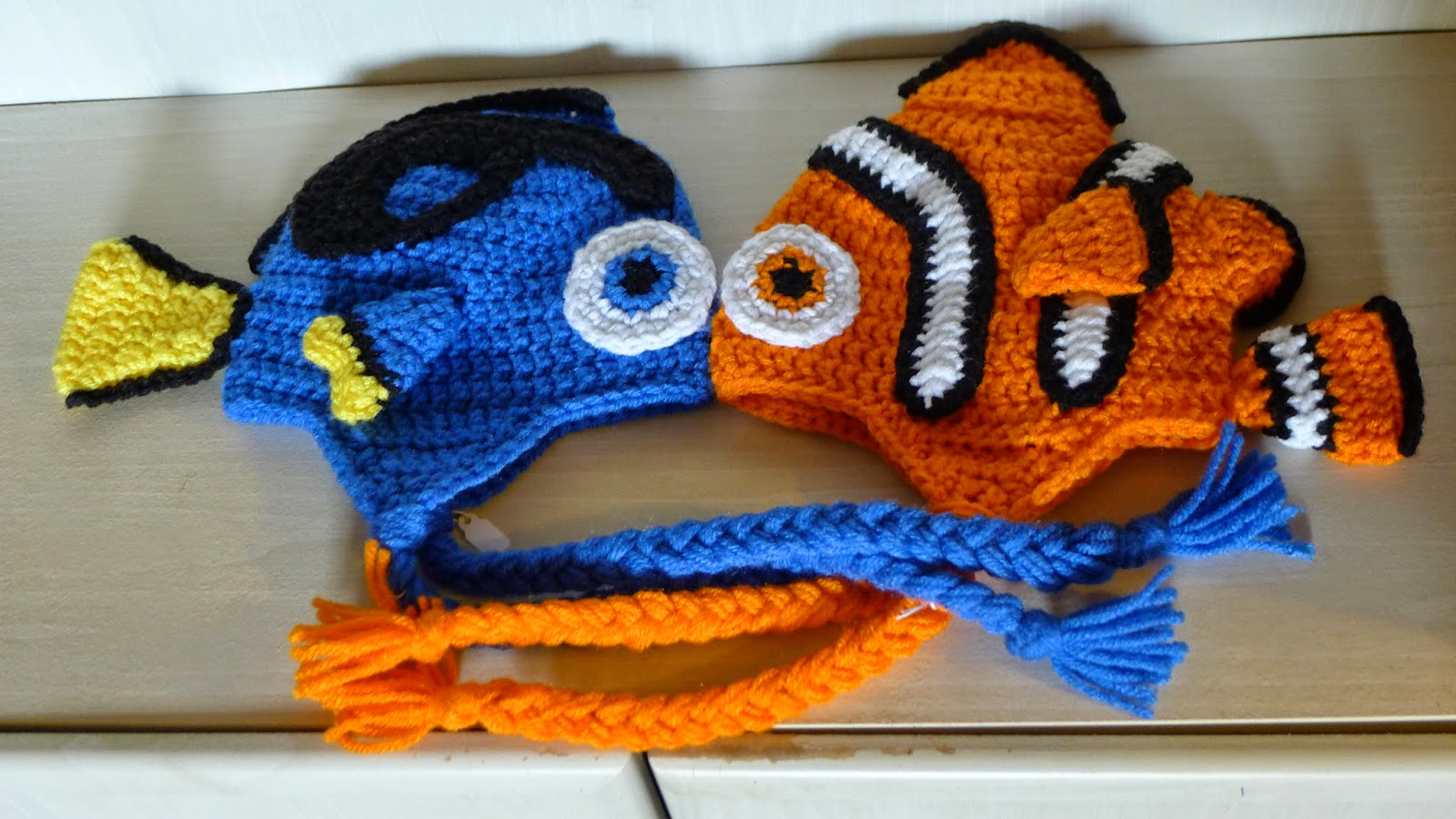 Amigurumi Sailor Octopus Pattern Free : mnopxs2 the blog: Crochet Clownfish Hat