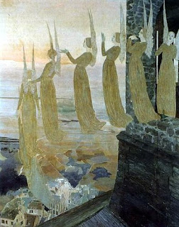 Angels Les Cloches du soir, 1891