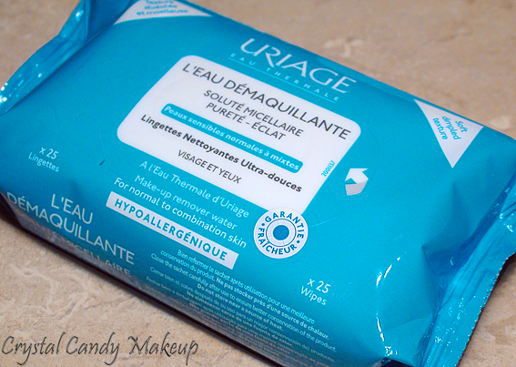 Lingettes L'Eau Démaquillante d'Uriage - Review