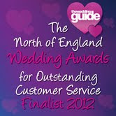 I was a finalist in the North of England Wedding Awards!