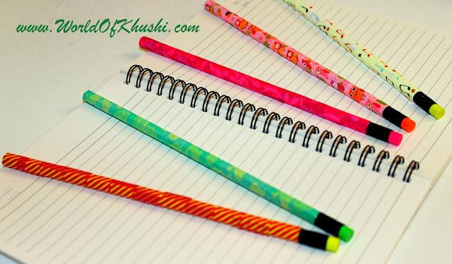 DIY Pencils - Khushi's World