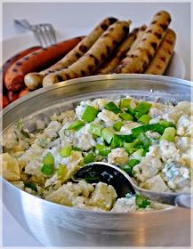 Kesällä maistuu:      Aura-perunasalaatti