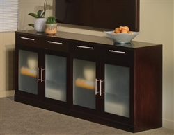 Executive Wall Cabinet