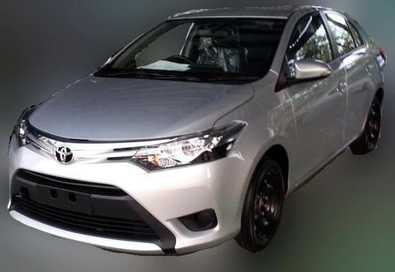 Toyota Vios 2013 spy shot!