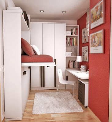 Narrow Bedroom Design