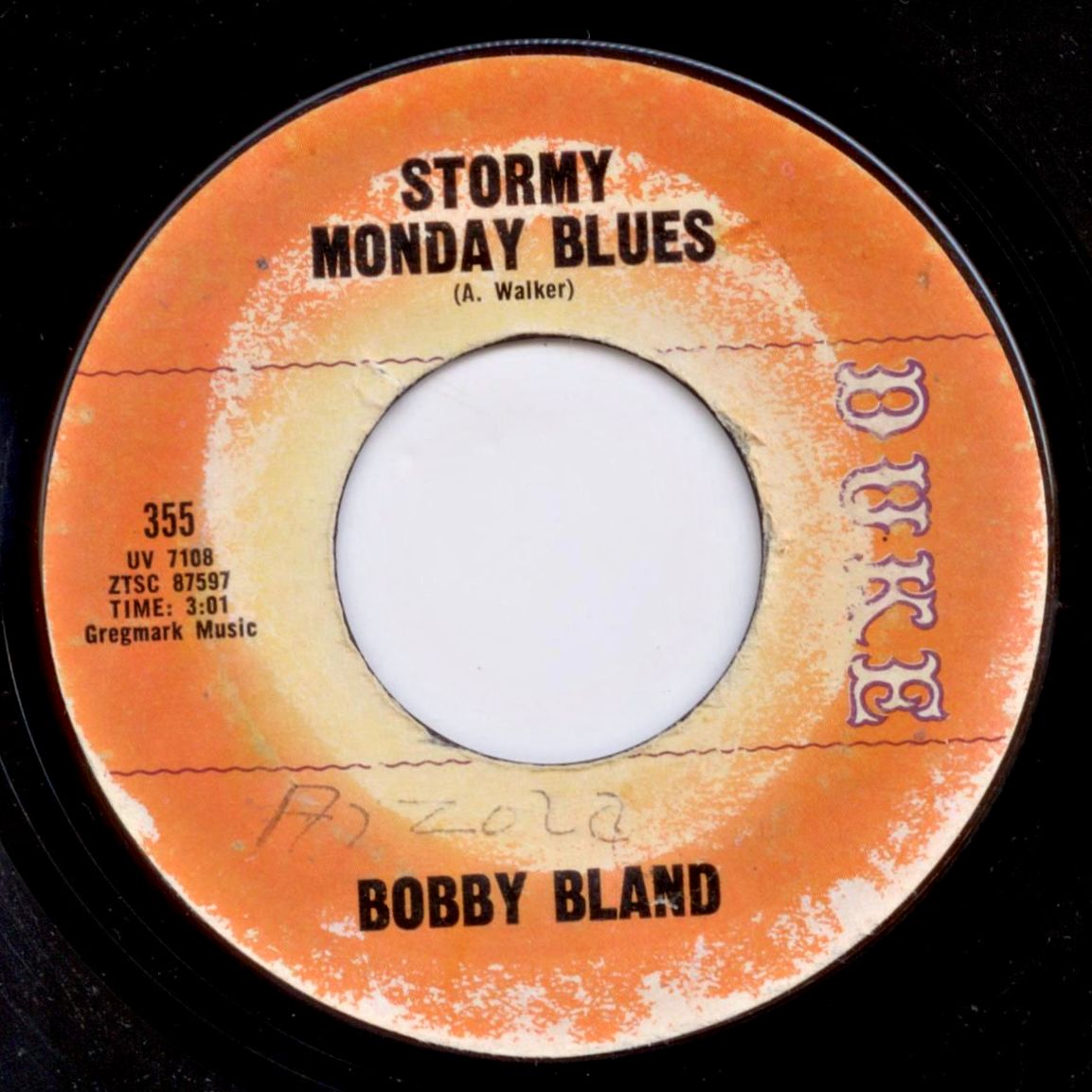Bobby Bland Stormy Monday Blues Your Friends