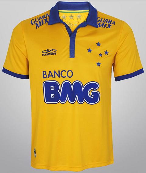 4c7eecf82e74b Olympikus lança terceira camisa do Cruzeiro - Show de Camisas