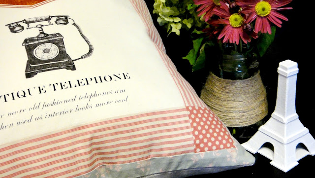 Комплект подушек в винтажном стиле: американский хлопок, натуральный лен. Размер ок. 45 см. Наволочки снимаются для стирки
