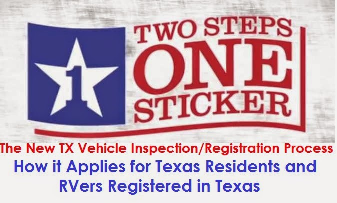 New TX Vehicle Registration: How it Applies to Texas RVers