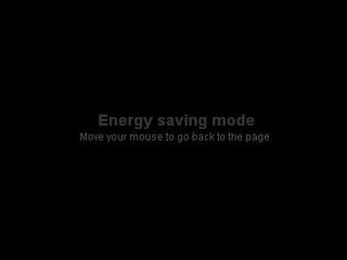 Membuat Screensaver Energy Saving Mode Pada Blog