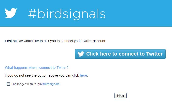 Birdsignals