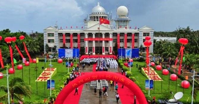 Trường học Trung Quốc xây dựng trái phép trên quần đảo Hoàng Sa của Việt Nam