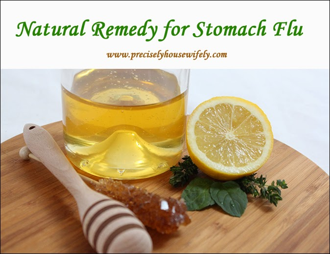 natural remedy for stomach flu
