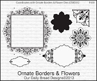 ODBD Ornate Borders and Flowers