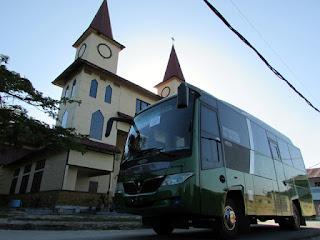Bus Pariwisata Pekanbaru 147