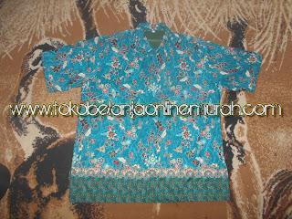 contoh baju kemeja batik pria daerah lahat palembang
