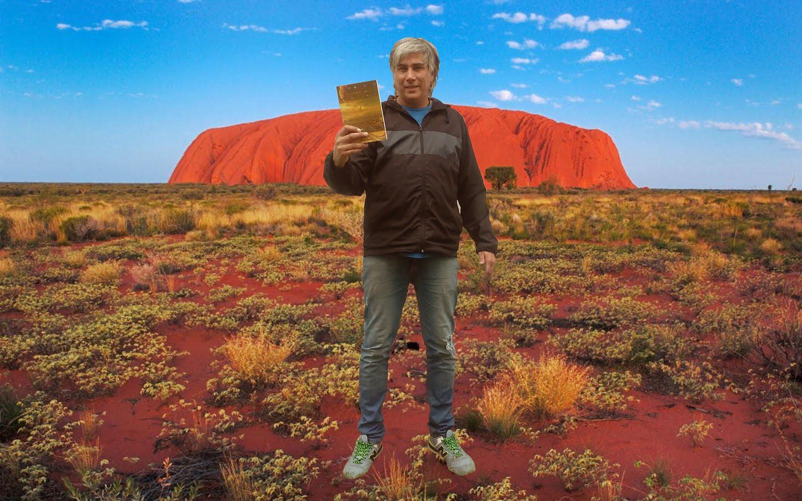 En Uluru - Australia