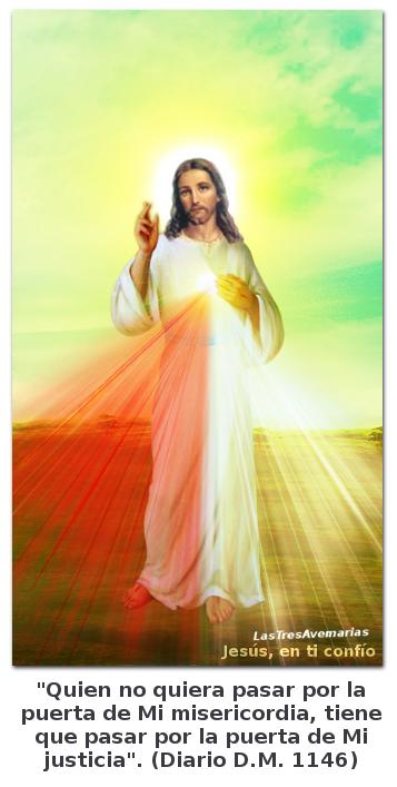 jesus divina misericordia con mensaje