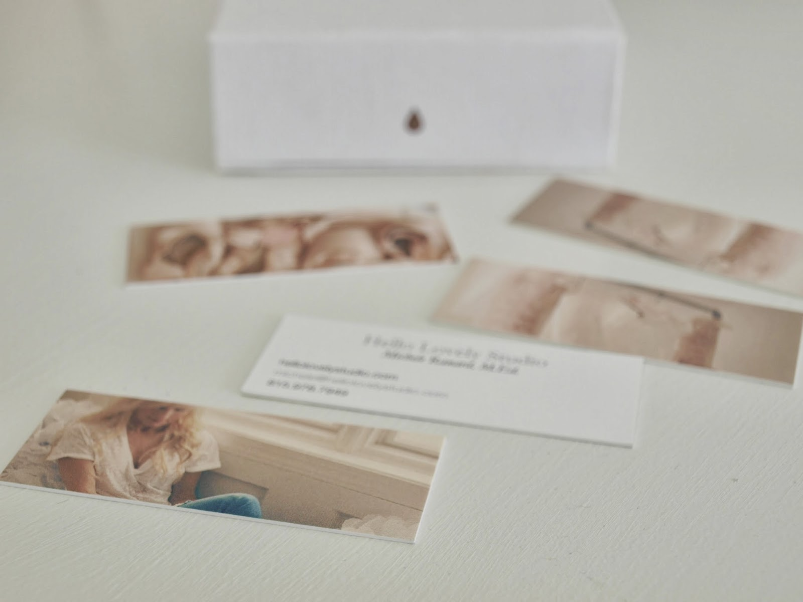 I love these business cards Moo hello lovely