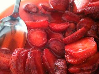 Cocina con Aníbal Fresas con azúcar y limón