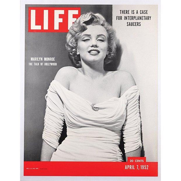 Marilyn Monroe na okładce magazynu LIFE