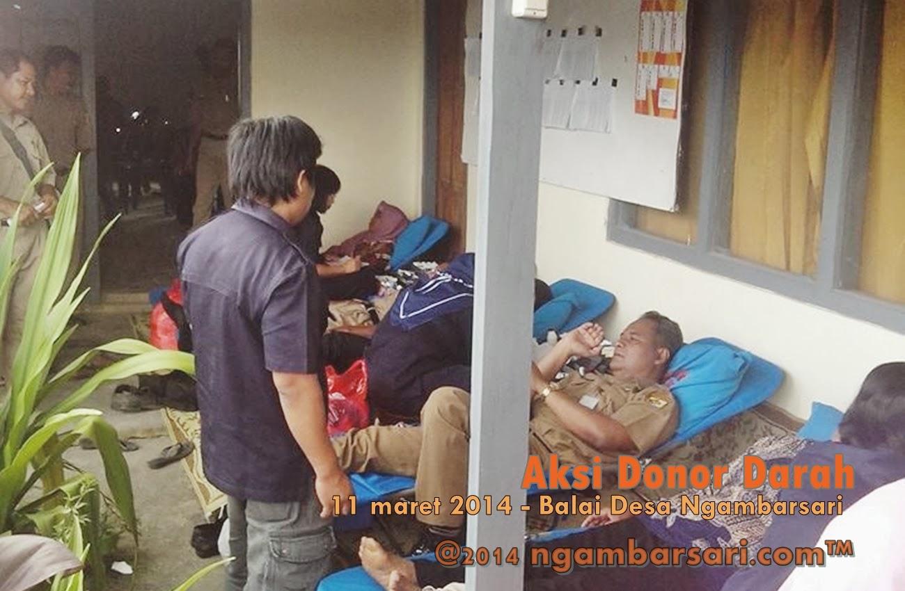 Aksi Donor Darah Ngambarsari 9