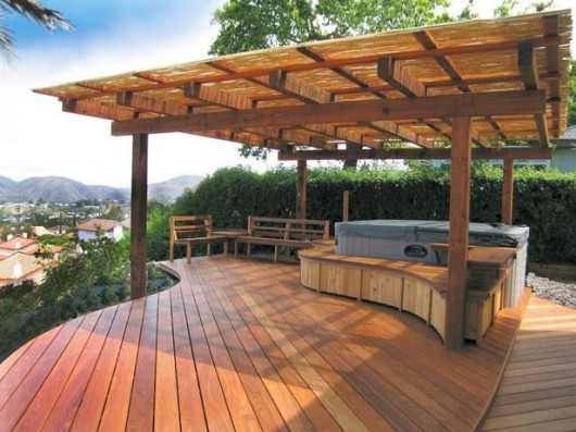 amazing beautifuly wood deck designs ideas interior decorating idea