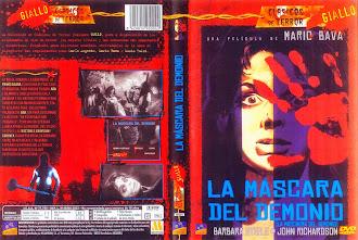Carátula dvd: La máscara del demonio (1960)  (Black Sunday)