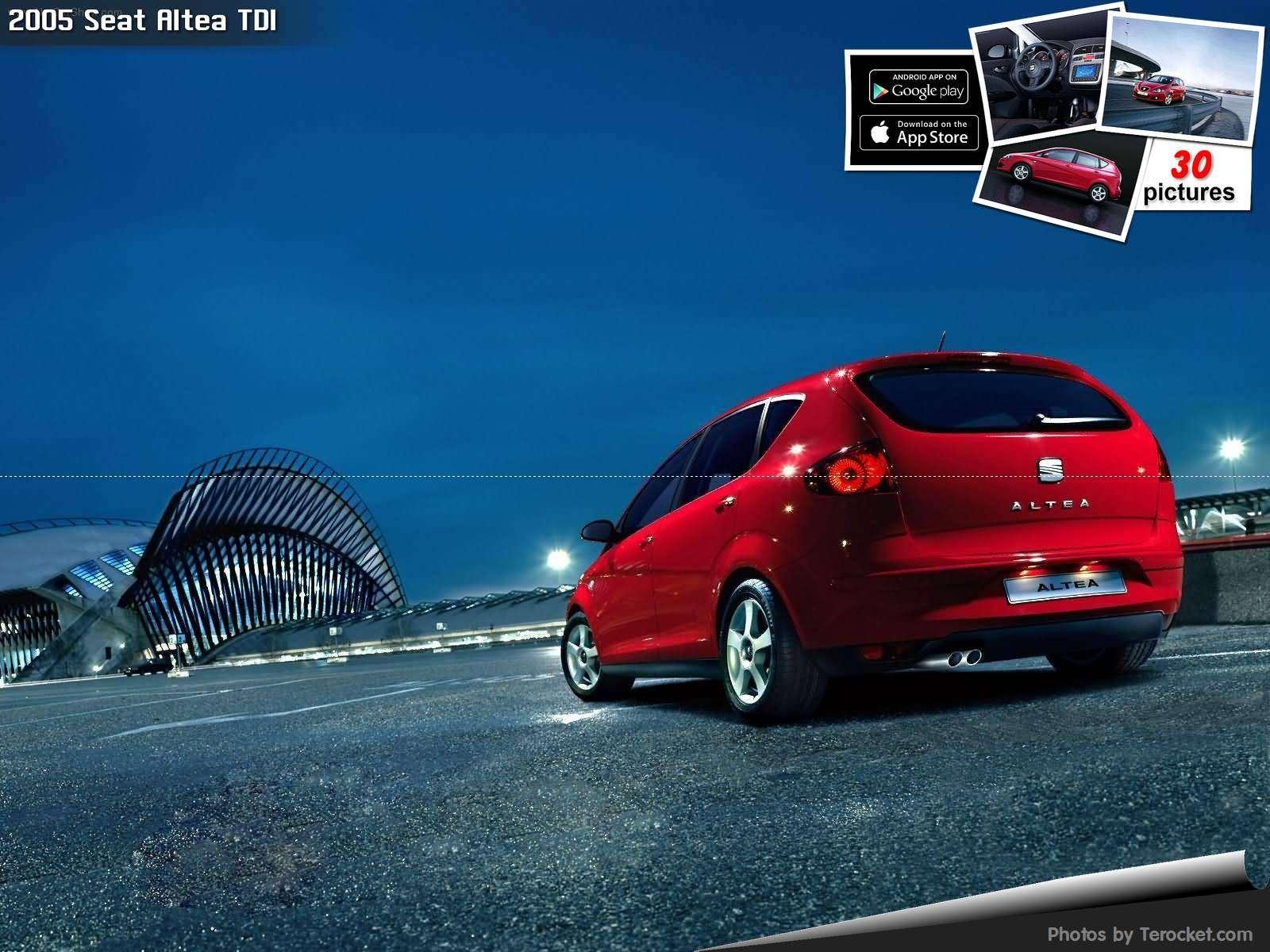 Hình ảnh xe ô tô Seat Altea TDI 2005 & nội ngoại thất