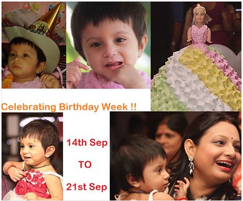 Sahana's First Birthday