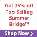 Save 25% off Summer Bridge Learning Tools