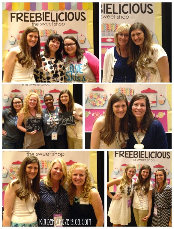 Freebielicious fun at the TpT Vegas Conference
