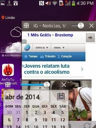 QSlide permite abrir vários aplicativos na tela