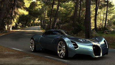 Bugatti Aeolithe Concept Car Futuristic Design HD Wallpaper