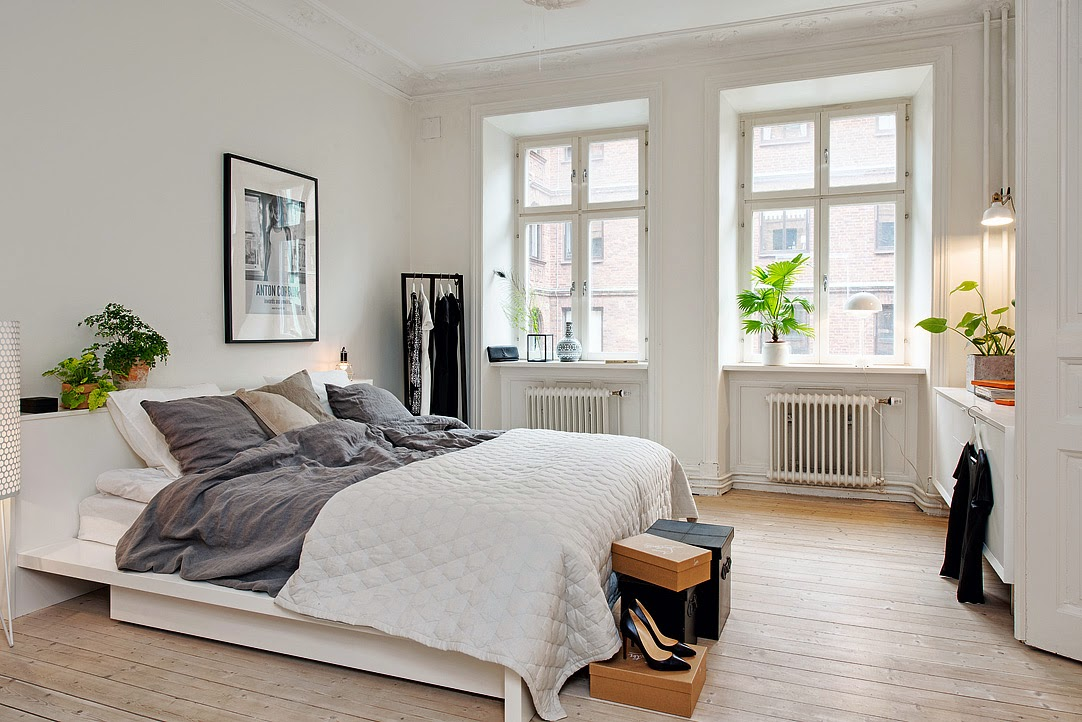 Swedish Bedrooms my scandinavian home: duvet day in this beautiful swedish bedroom?!