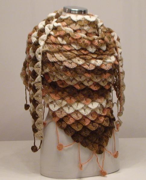 Como Tejer En Crochet Punto Cocodrilo