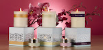 Divine Pompadour candles