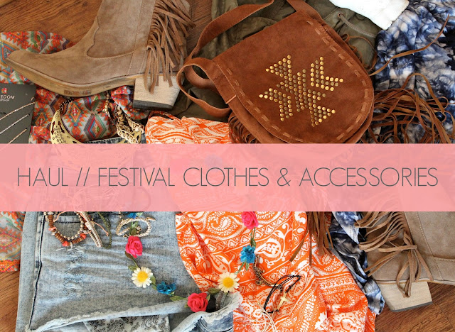 Festival Clothes, Festival Clothes and Accessories Haul, Festival Fashion Haul, What to Wear to a Festival