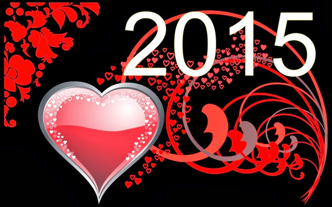 Beautiful Happy New Year 2015 - Cards