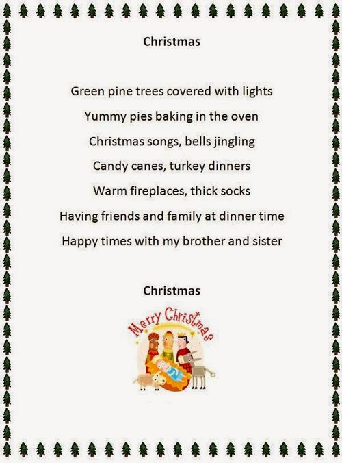 Famous Christmas Poems For Kids
