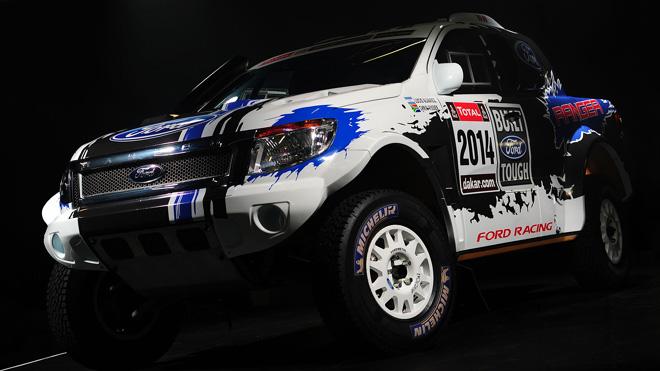 Ford Shows New V8-Powered Ranger Headed to Dakar Rally