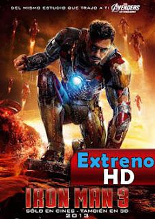 Iron Man 3 | 3gp/Mp4/DVDRip Latino HD Mega