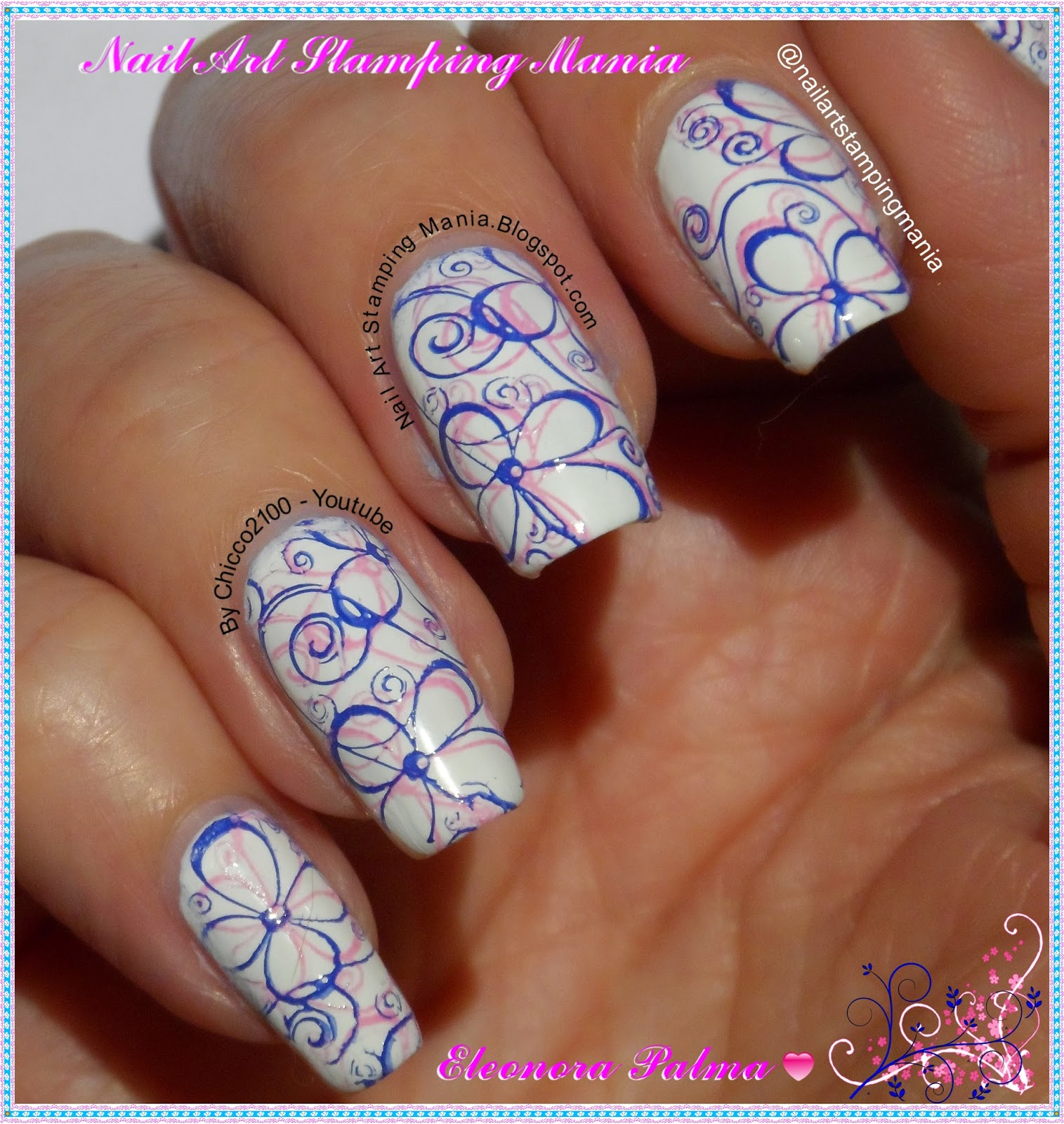 Nail Art Stamping Mania: Wet n Wild French White Crème And Born ...