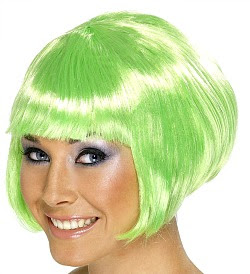 Green Irish Wig for Ladies