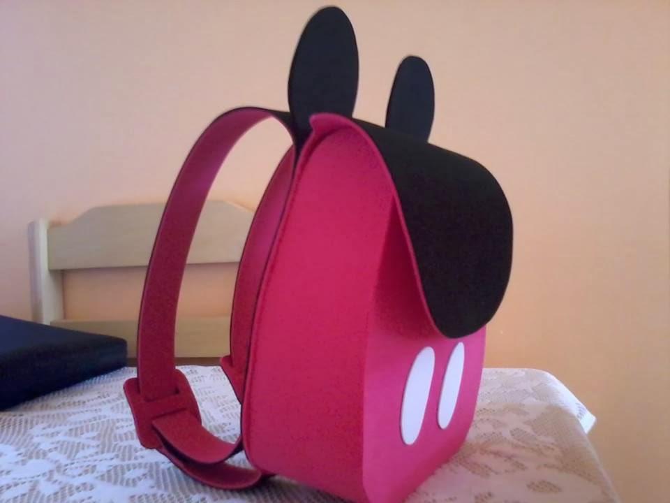 QuiArt´s: Mochila do Mickey em E.V.A